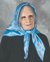 Nana Mask Grandma Old Lady Hag Scarf Gray Hair Halloween Costume Party M... - $72.90 CAD