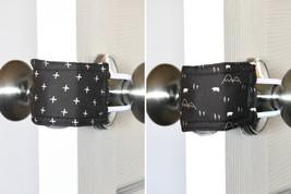 Reversible Swiss Forest Door Silencer 3 PACK, door muff, baby room, door... - $25.95