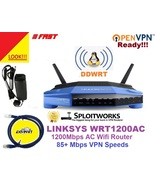 Linksys WRT1200AC Flashed VPN Router w/ DDWRT OpenWRT CovertRouter ANTI-... - $199.00