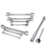 Lot of Vintage Craftsman Wrenches, Combination Wrenches and Ratchets - $59.99