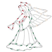 "Northlight 18"" Lighted Angel Christmas Window Silhouette Decoration (Pac... - £41.18 GBP"