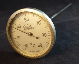 """Weiss Instruments 5-1//4/"""" Thermometer 20 to 120°"""