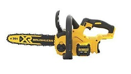 Cordless Chain Saw Kit High Efficiency Brushless Motor 20V Chainsaw Tool... - $238.41