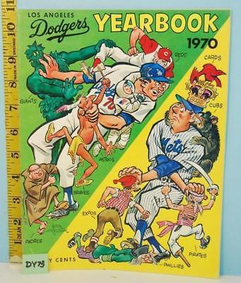 Primary image for 1970 Los Angeles Dodgers Official Major League Baseball Yearbook Ex Cond.