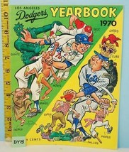 1970 Los Angeles Dodgers Official Major League Baseball Yearbook Ex Cond. - $14.80