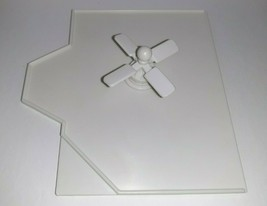 Precious Places Magic Key Mansion REPLACEMENT Floor w/Ceiling Fan - $9.90