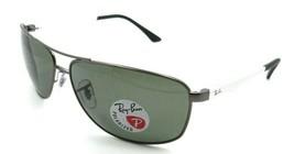 Ray-Ban Sunglasses RB 3506 029/9A 64-13-135 Gunmetal / Green Polarized - $131.32