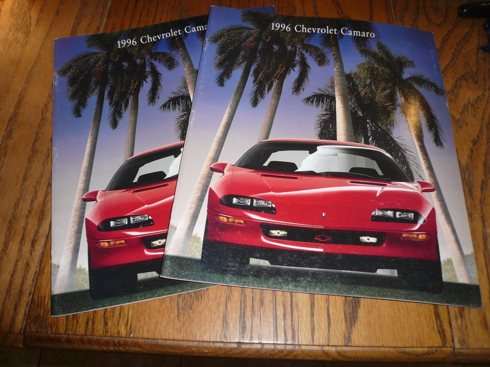 1996 Chevrolet Camaro Sales Brochure And Similar Items 1978 Vintage Two For One Price
