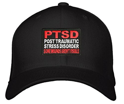 PTSD Hat - Adjustable Mens - Post Traumatic Stress Disorder Some Wounds Aren't V