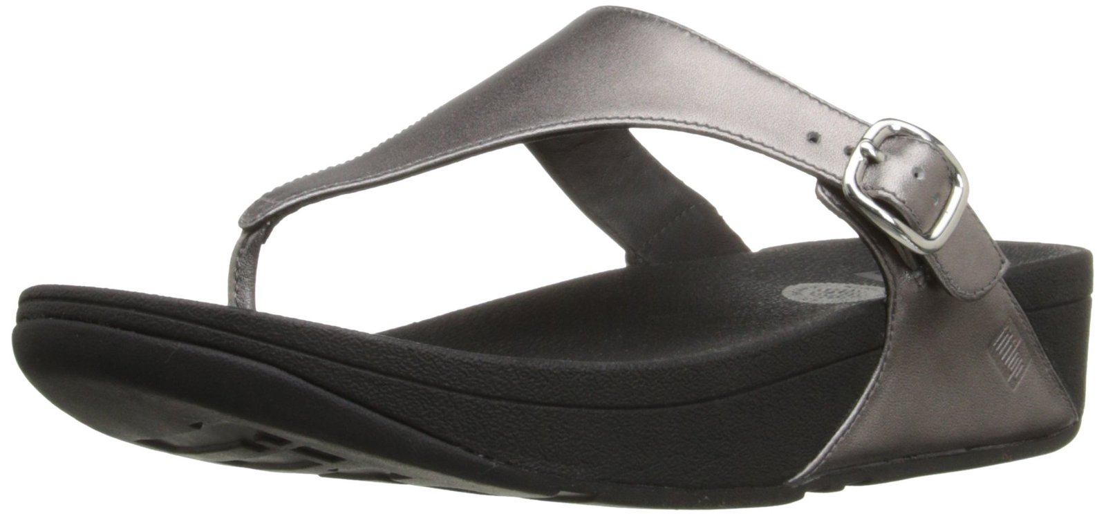 Fitflop Women's The Skinny Flip Flop, Pewter, 8 M US