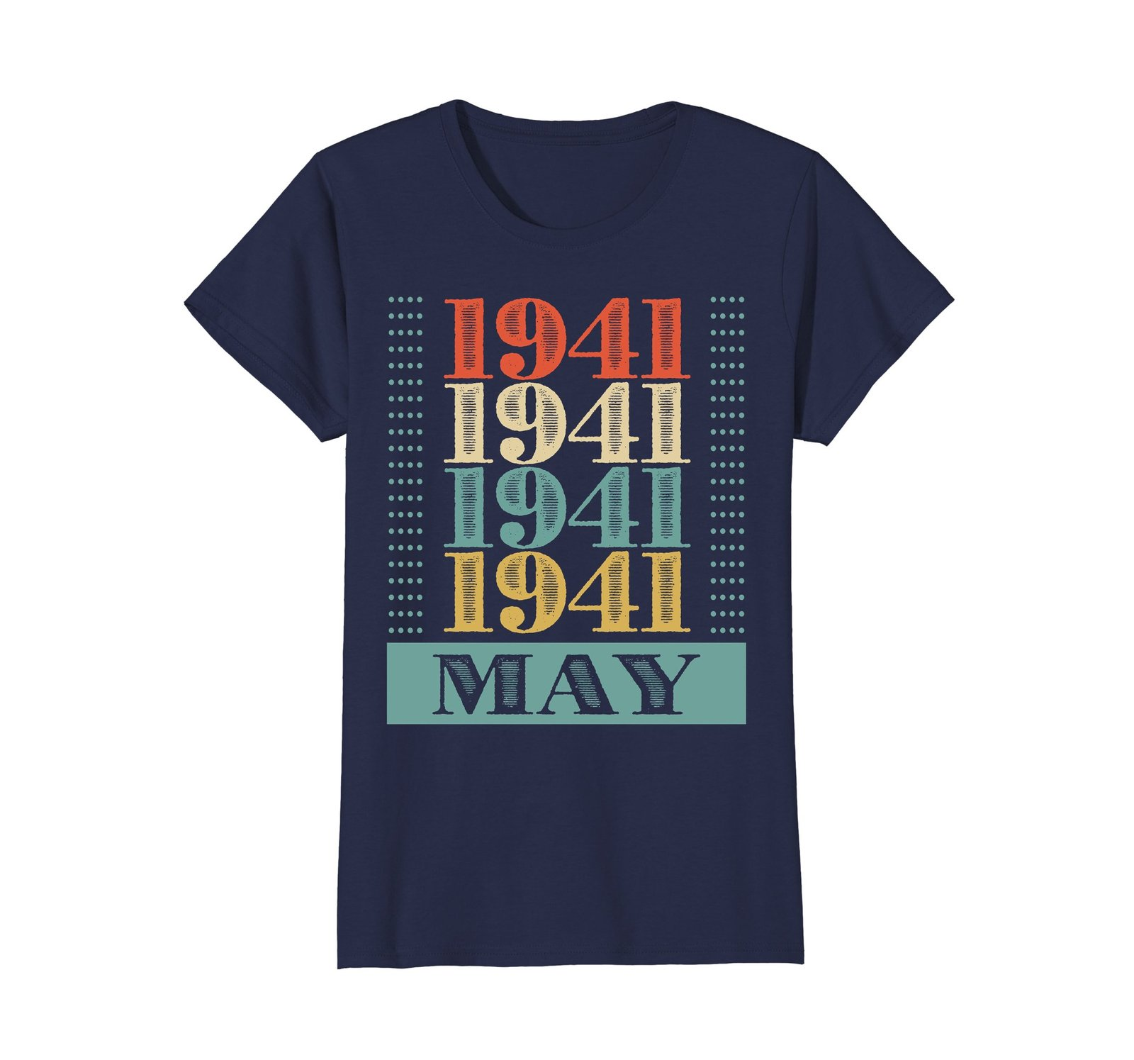 Funny Shirts - Retro Classic Vintage May 1941 77th Birthday Gift 77 yrs old Wowe image 4