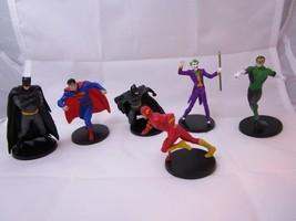 "Marvel DC Comics Superhero 3"" Figures Lot of 6 Joker, Flash, Superman, B... - $14.69"