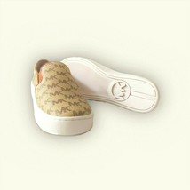 Michel Kors Keaton Women's Slip On Fashion Sneakers Brown(LS20K)Various ... - $59.99