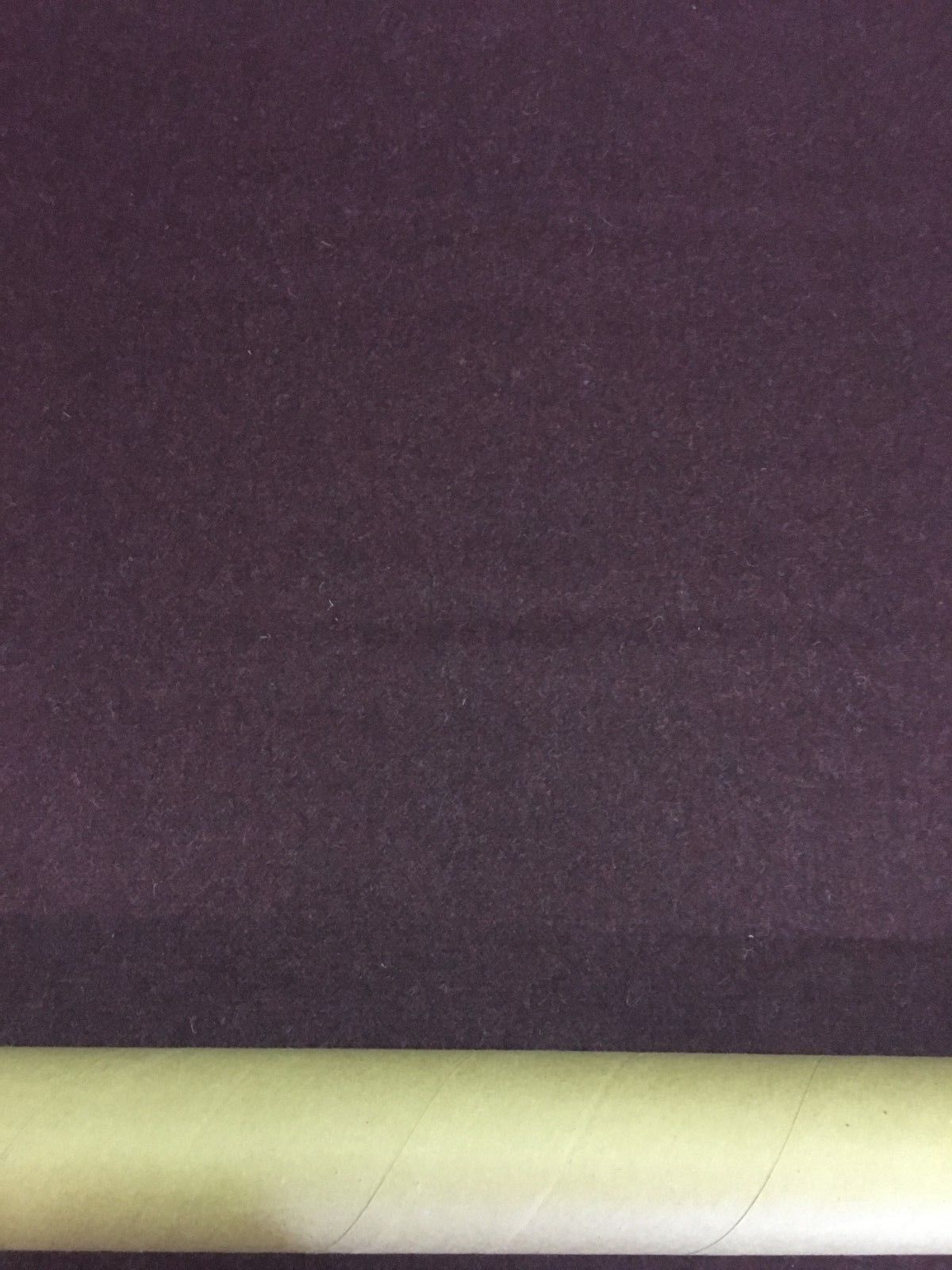 Mid Century Upholstery Fabric Purple Woven Wool 1.125 yds Y