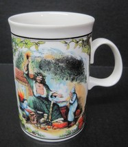 "A Christmas Carol Dunoon Scotland 4 1/4"" tall  Coffee Mug Cup - $29.69"