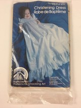 Vtg 1980 Rainbow Hill Patterns Smocking Christening Dress Pattern Uncut ... - $14.85