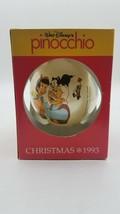 Schmid Collectors Gallery Walt Disney's Pinocchio 1993 Christmas Ornament - $10.84