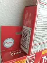 (3)~Sealed Boxes of Tylenol Extra Strength ,Travel Packs~ Exp. 07/2023~ Go Packs image 5