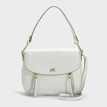 Michael Kors Evie Medium Shoulder Handbag - White #130 - $119.99