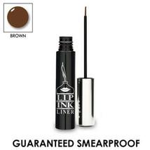 LIP INK  Smearproof Waterproof Liquid Eye Liner - BROWN - $24.75