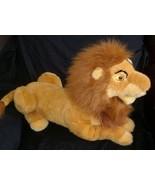 """20"""" BIG DISNEY STORE SIMBA LION KING MUFASA HAND PUPPET STUFFED ANIMAL P... - $55.17"""