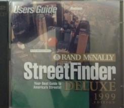Street Finder Deluxe 1999 CD-ROM - $5.65