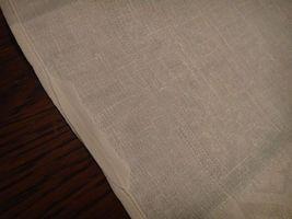 Large vintage antique Irish linen damask hand towel Celtic clover tea dish 40X17 image 11