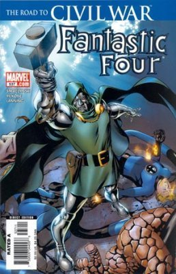 "Fantastic Four #537 1st Print ""The Road to Civil War""- Doctor Doom & Doombots Ap"