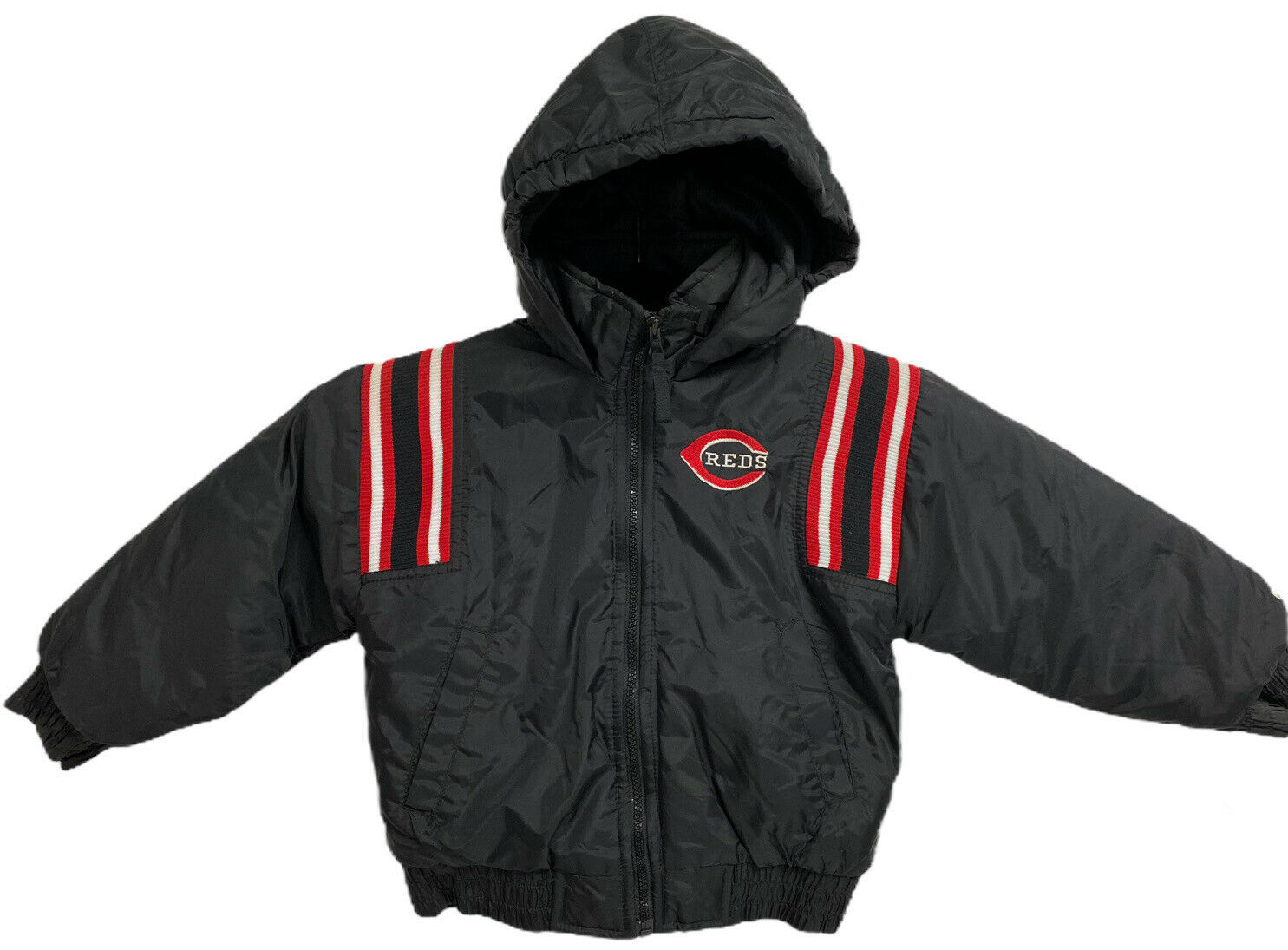 Primary image for Cincinnati Reds Authentic Genuine Merchandise Puma Jacket Youth Size Medium 5-6