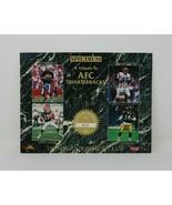 Spectrum 1993 24k Gold Signature Promo Sheet Tribute to AFC Quarterbacks... - $4.94