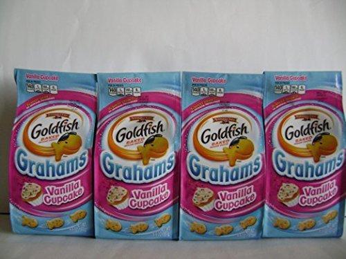 Pepperidge Farm Goldfish Grahams, Flavor Blasted Vanilla Cupcake, 6.6(packof6bag