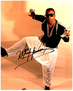 Primary image for MC HAMMER  Authentic Original  SIGNED AUTOGRAPHED PHOTO w/ COA 480