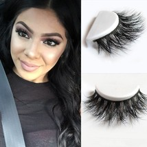D008 1pcs/lot 100% Real Siberian 3D Mink Full Strip False Eyelash Long - $12.20