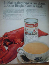 Pepperidge Farm Lobster Bisque Print Magazine Advertisement  1967 - $4.99