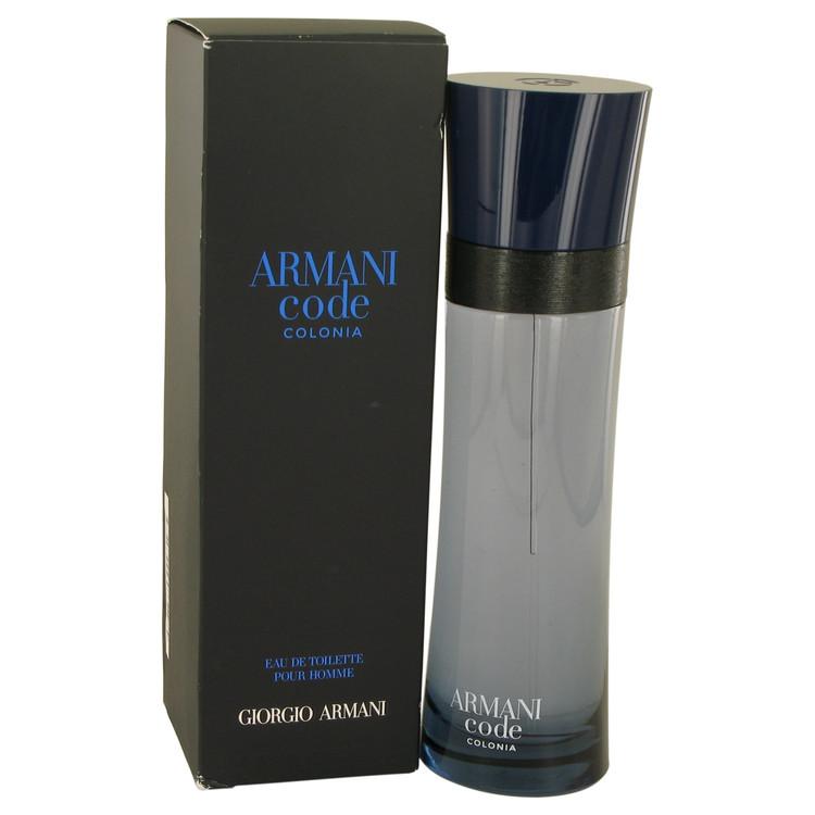 Armani Code Colonia by Giorgio Armani Eau De Toilette Spray 6.7 oz - $103.95