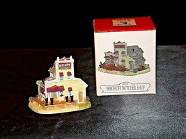 Liberty Falls Collection AH131 Berghoff Butcher Shop AA19-1473 Vintage