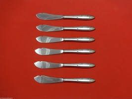 "Celeste by Gorham Sterling Silver Trout Knife Set 6pc. HHWS  Custom Made 7 1/2"" - $366.80"