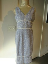 MAGGY LONDON PETITE Women's Embroidered Dress Size 8P  - $39.59