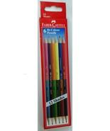 Faber-Castell  6 Bi-Colour Pencils (12 shades)  Color Pencils - $5.74