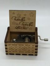Twinkle Twinkle Little Star Wooden Music Box - $24.74