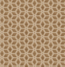 S Harris Upholstery Fabric Hawkes Coin Gold Geometric Velvet BY THE YARD FB - $76.00