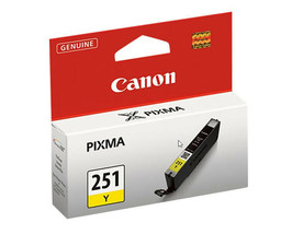 Canon CLI-251Y 6516B001 Yellow Ink Tank for iP7220, iP8720, IX6820, MG5420 - $26.68