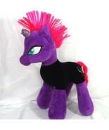 Build A Bear BAB My Little Pony Movie Tempest Shadow Purple Black Hot Pi... - $29.69