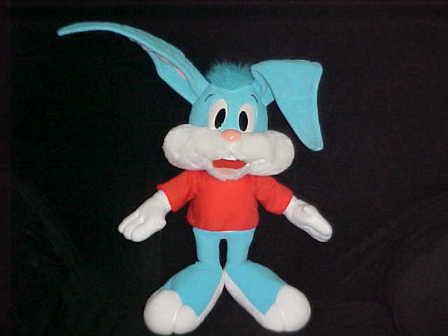 """15"""" Buster Bunny Plush Toy From Tiny Toon Adventures By Playskool - $98.99"""