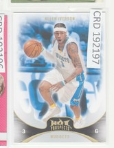 2008-09 Fleer Hot Prospects #41 Allen Iverson Denver Nuggets Basketball ... - $0.98