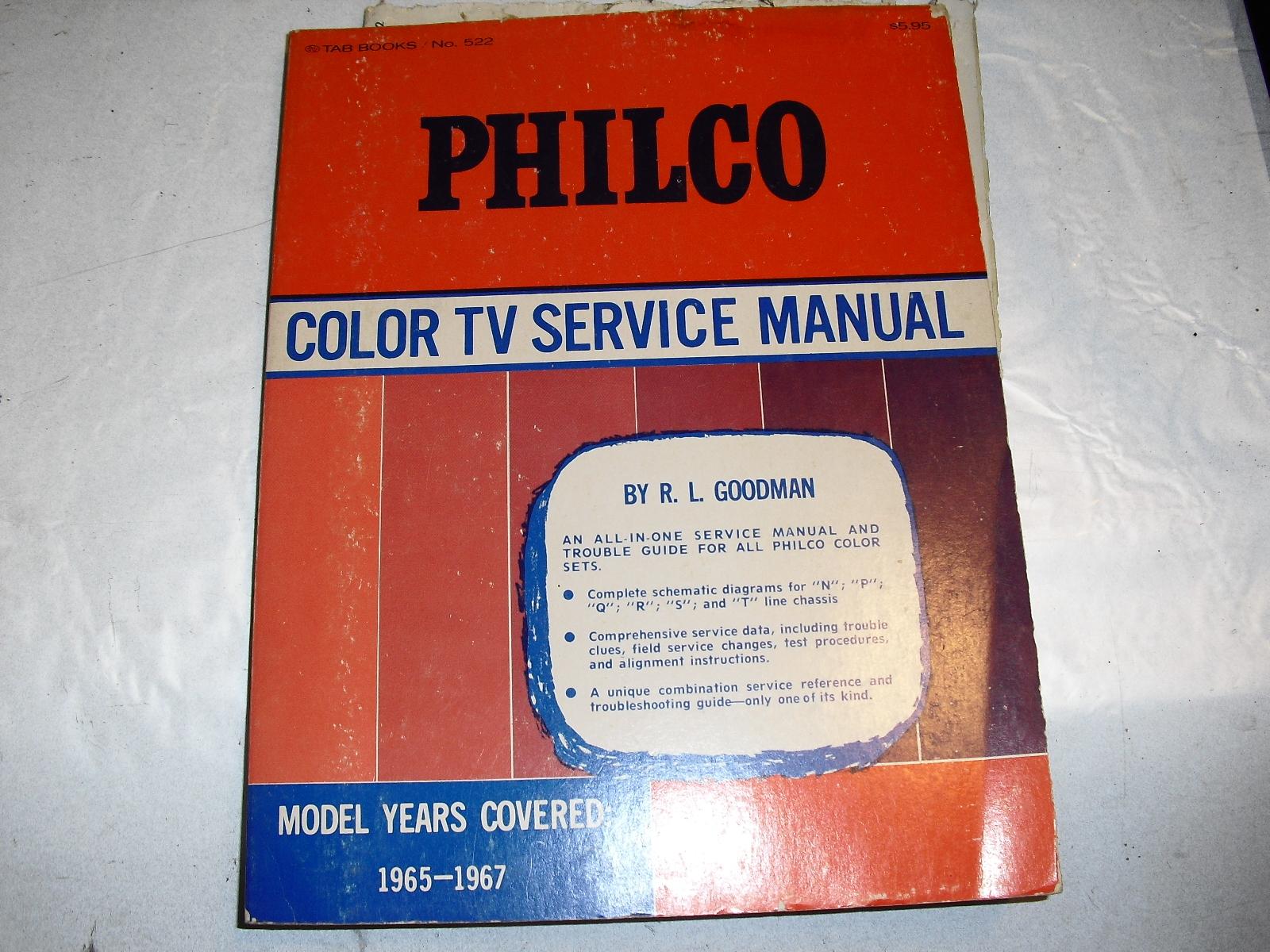 philco   color  tv  service  manual