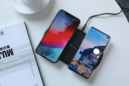 Fast Dual 2 In 1 Wireless Charger Xiaomi 9 Mix 2S Qi Pad Samsung Galaxy S10 5G image 9