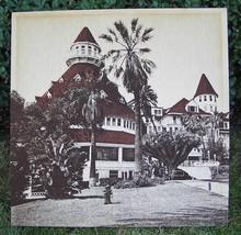 """Vintage Hotel Del Coronado Fabric Wall Art 40"""" 1978 - $150.00"""