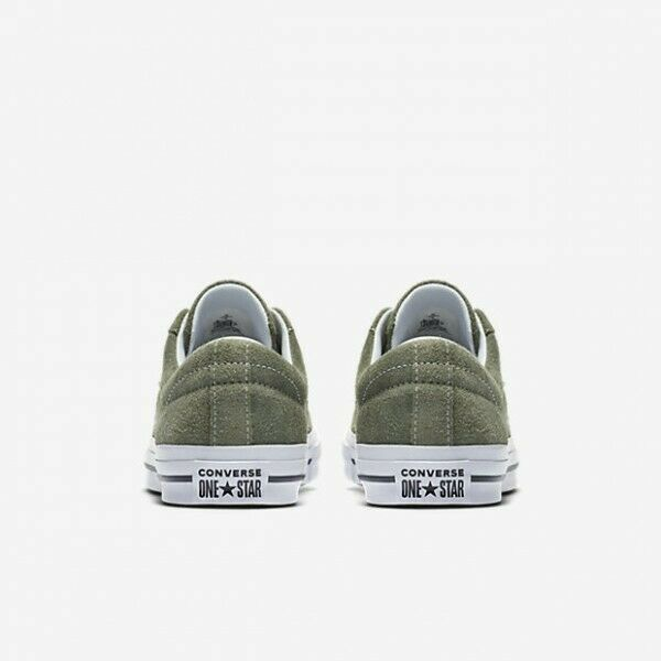 Converse Mens One Star Ox Suede 161576C Field Surplus (Olive) / White Size 9 image 5