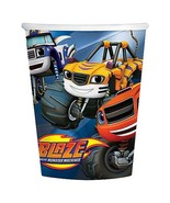 Blaze and The Monster Machines Truck Cups 9 oz Birthday Party Supplies 8 Ct - $5.89